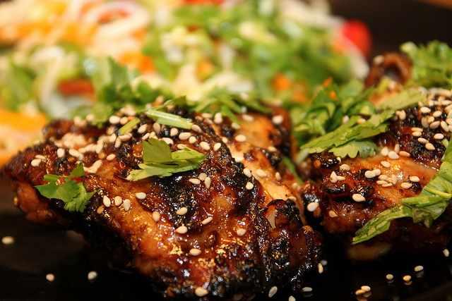 Teriyaki chicken | © Erik Junberger/Flickr