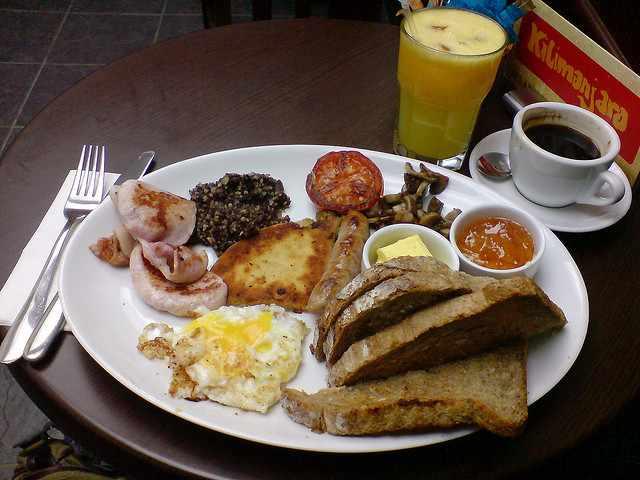 Perfect Breakfast?| © Mark Longair/Flickr