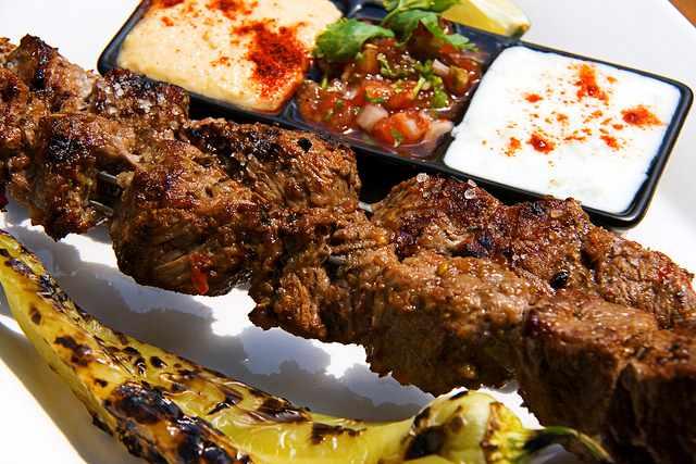 shish kebab | © Martin/Flickr