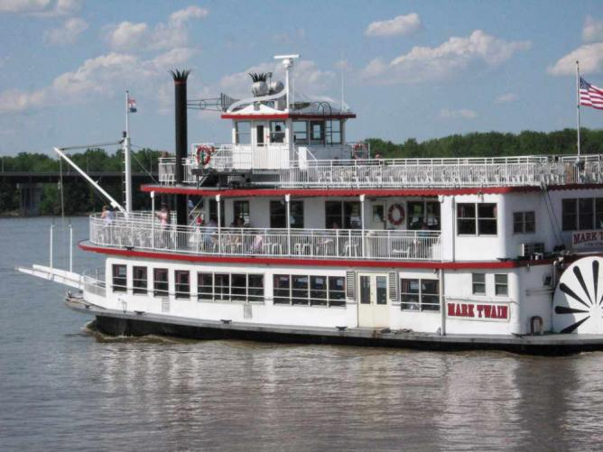 """Mark Twain"" riverboat"
