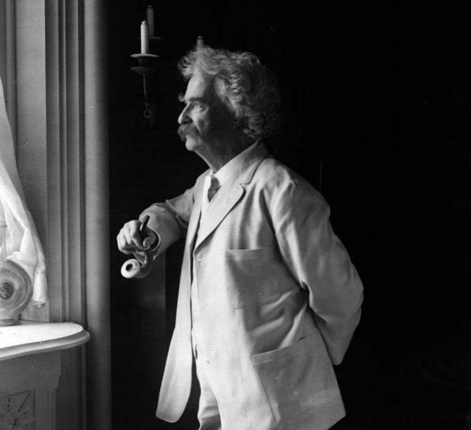 """Mark Twain Underwood 1907"""
