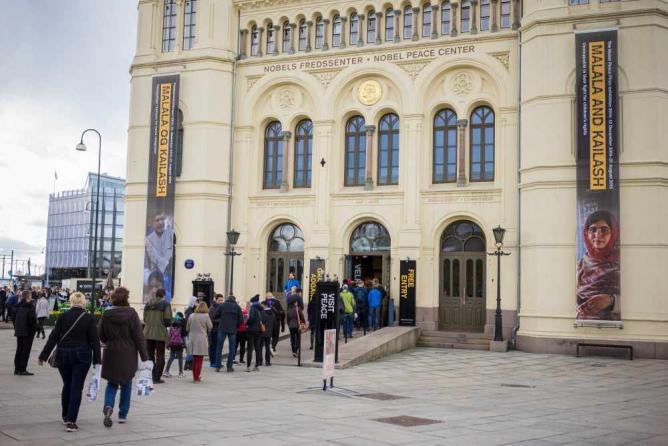 Nobel Peace Center | © Johannes Granseth/ Nobel Peace Center