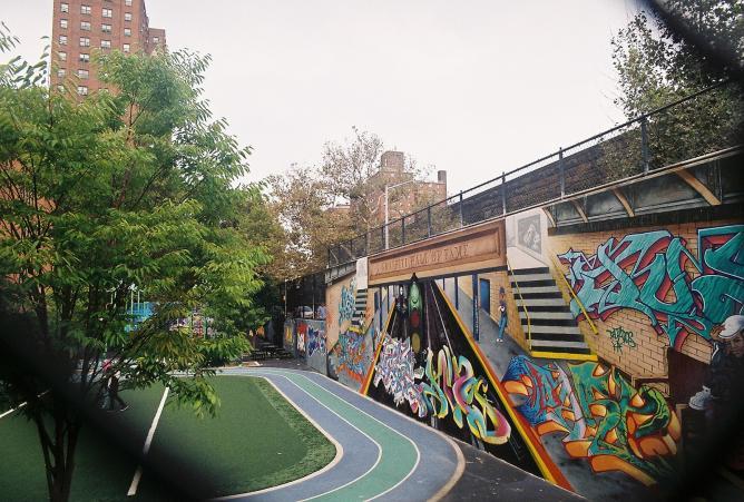 Graffiti Hall of Fame in East Harlem | © k_tjaaa/Flickr