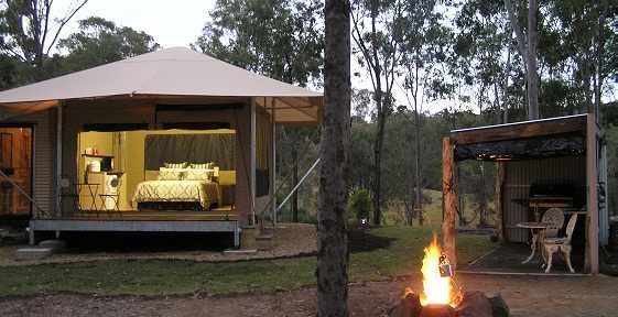 Knapps Eco-tent | © Ketchup's Bank Glamping