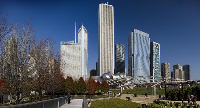 Chicago skyscrapers | © Jonathan/Flickr