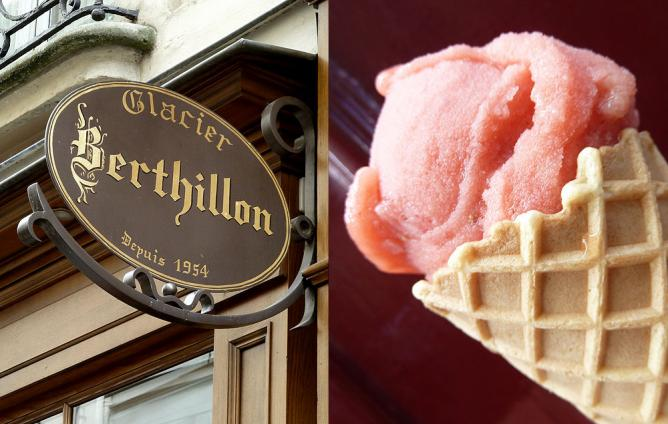 Blood Orange Sorbet at Berthillon | © Arnold Gatilao/Flickr