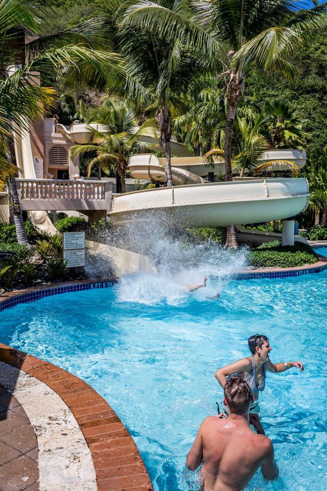 Water Park Fun at Coqui Water Park