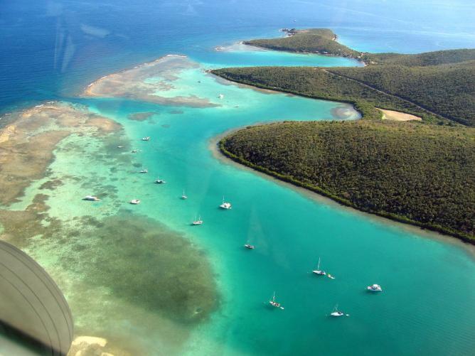 Culebra from the air