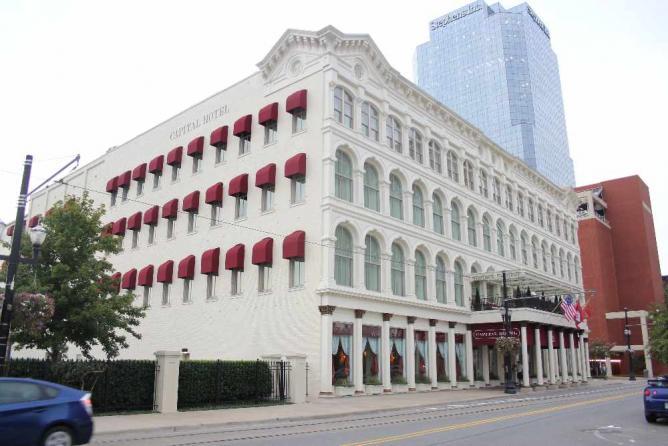 Best Hotels In Little Rock The Capital Hotel Exterior Xa9 Abish Tatum Wikicommons