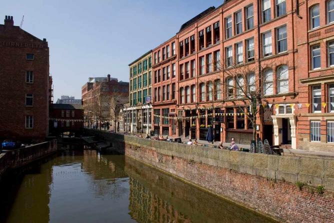 City center of Manchester ©Parrot of Doom/WikiCommons