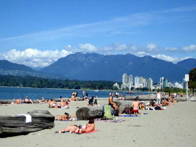Las mejores playas de Vancouver