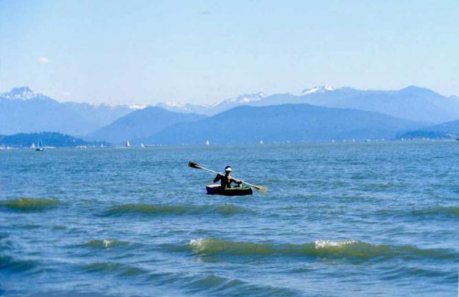 Kayaking in Vancouver | © Pierre/Flickr