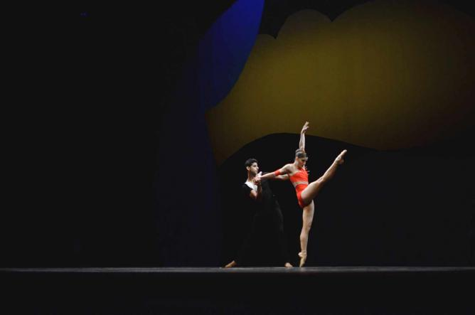 The Ashley Bouder Project: Ashley Bouder and Amar Ramasar   © Alexis Ziemsk
