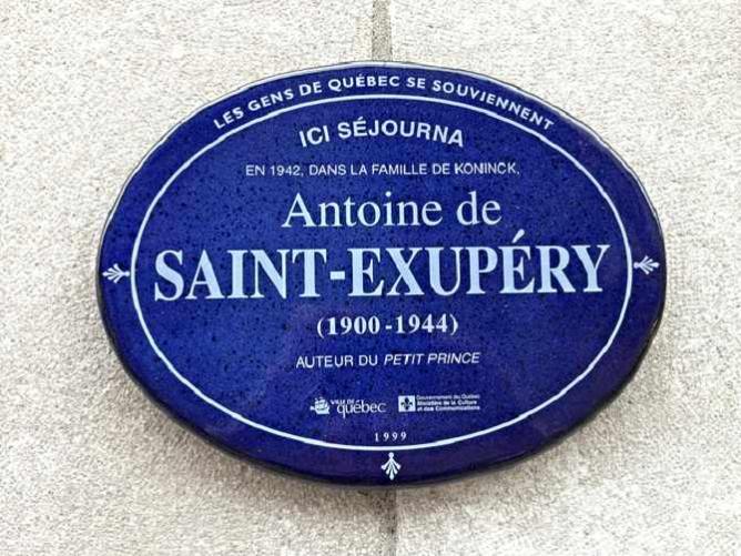 Antoine de Saint-Exupéry   © mj.ostergen/Flickr