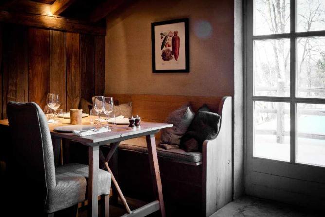 Restaurant au Chalet Zannier © Hotel-Chalet de L