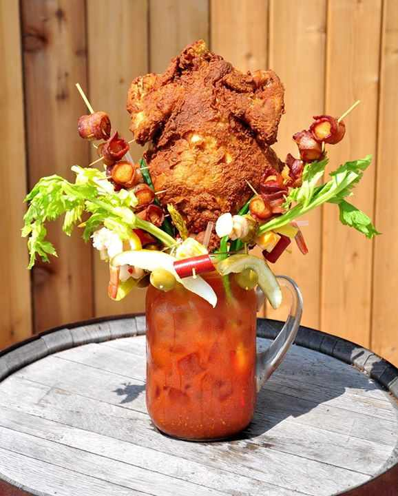 Chicken Fried Bloody Mary | Courtesy of Sobelman's Pub & Grill
