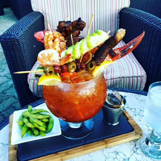 Ridiculous Ultimate Caesar | Courtesy of The Fairmont Southampton