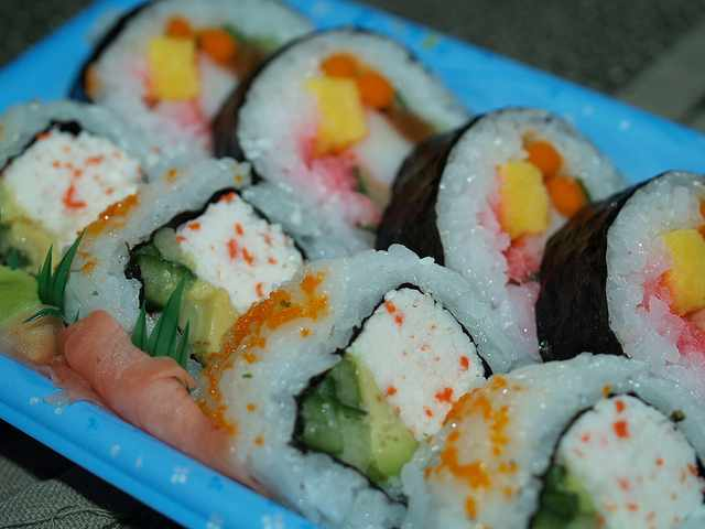 Sushi|©Catherine Bulinski/Flickr
