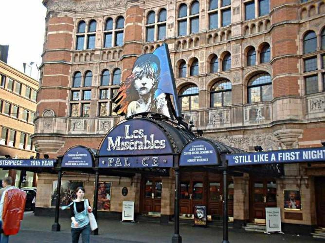 Palace Theatre, Shaftesbury Avenue, London | © C Ford/WikiCommons