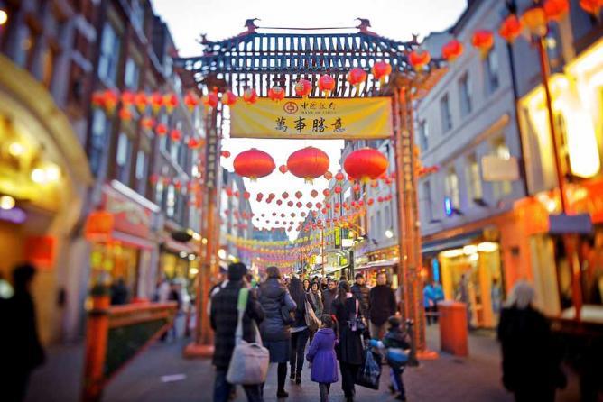 Gerrard Street, Chinatown, London | © Aurelien Guichard/Flickr
