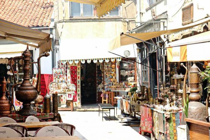 Sarajevo Old Town | Ⓒ Magalie L'Abbé/Flickr