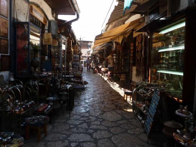 Sarajevo Old Town | Ⓒ Monika/Flickr
