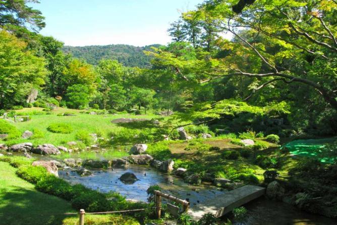 Murin-an Villa garden