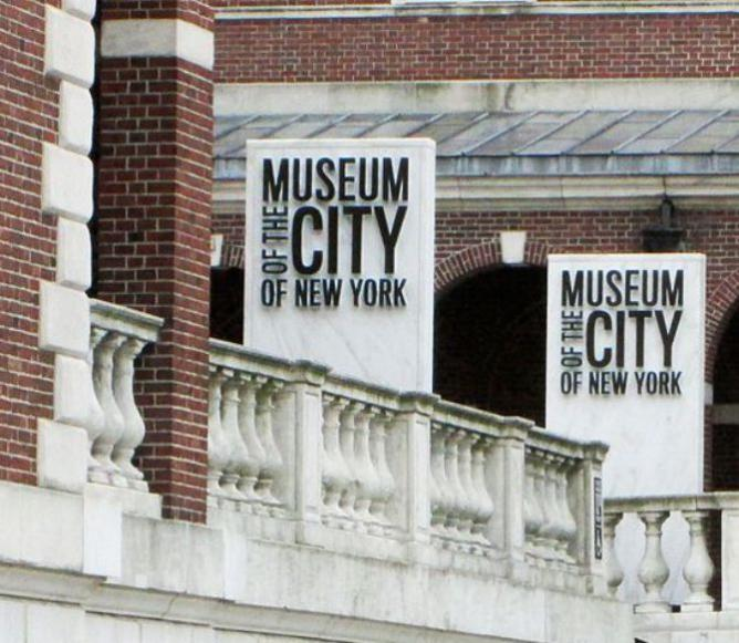 Museum of the City of New York 1220 Fifth Avenue Signs | © Beyond My Ken/WikiCommons