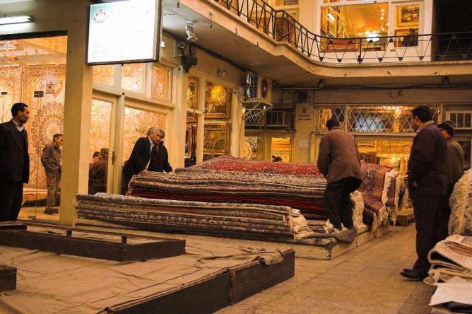 Carpet market | © Fabienkhan/Wikicommons