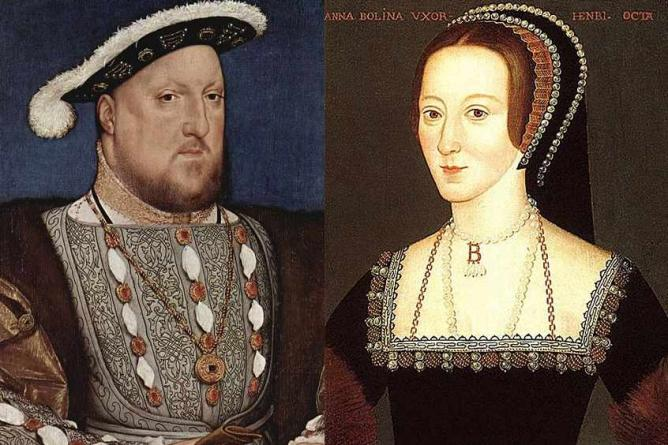 Henry VIII and his second wife, Anne Boleyn | © Qp10qp/WikiCommons