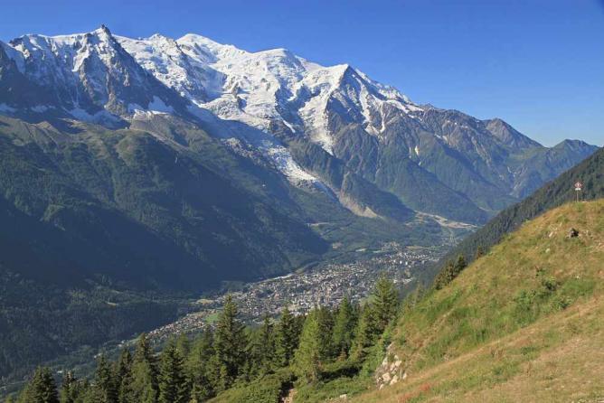 Chamonix Valley © Ximonic/WikiCommons