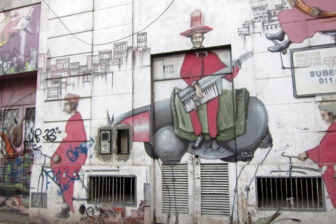 Almagro street art, Buenos Aires | © Wally Gobetz/Flickr