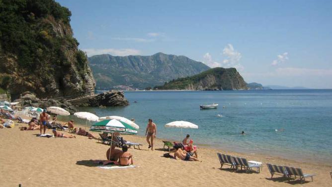 Mogren Beach in Budva, Montenegro | © DavidDufrescne/Flickr