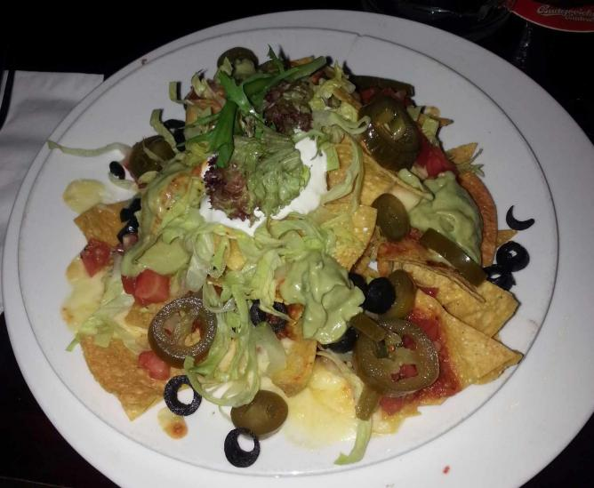 Look! Lettuce! It's totally healthy! - The Chalet Nacho's | Courtesy of Paul McConnell