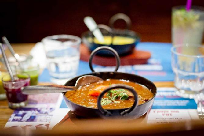 Other savoury delights at Delhi Grill | Courtesy of Paul Winch