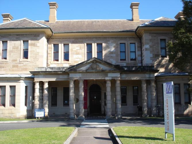 Callan Park - previously a Mental Hospital, now Sydney College of the Arts