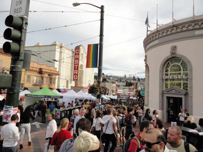 Castro Street Fair © Adrien_Bouteille/Flickr