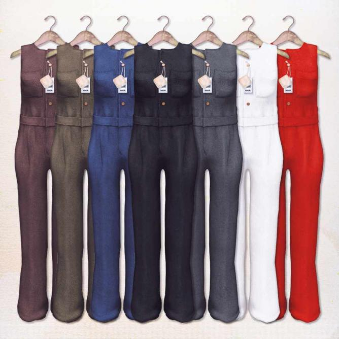 Jumpsuits with funky pockets   © MENI from ASO! & Soothe./Flickr