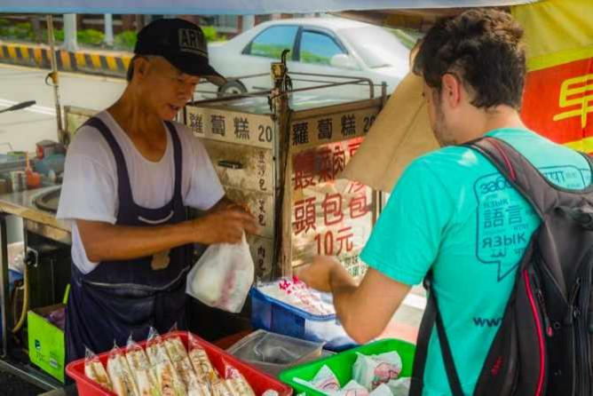 A Street Vendor Selling Breakfast, Tainan | Courtesy of Avery Segal