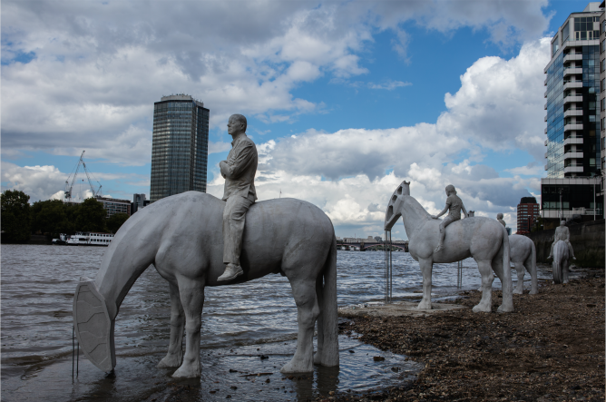 The Rising Tide   Courtesy of Jason deCaires Taylor
