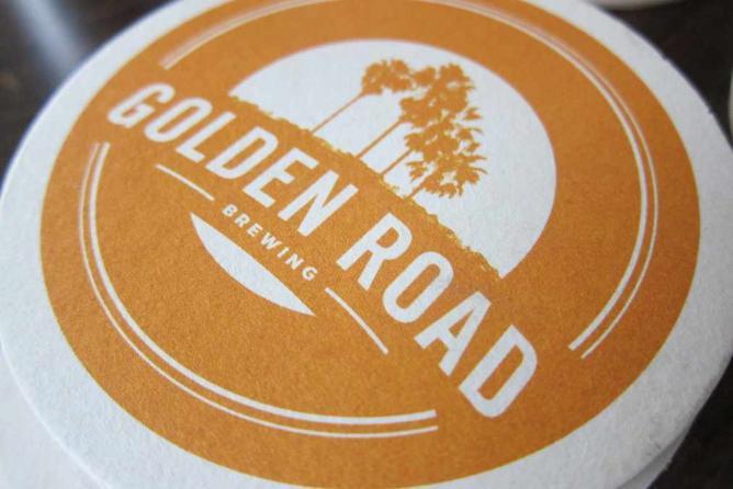 Golden Road Beer | © Guzzle Nosh/Flickr