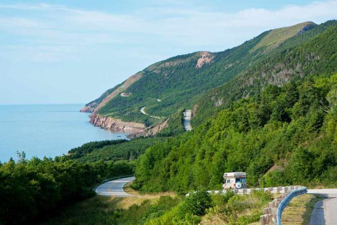 Cape Breton Highlands National Park, Nova Scotia | © Andrea Schaffer/Flickr