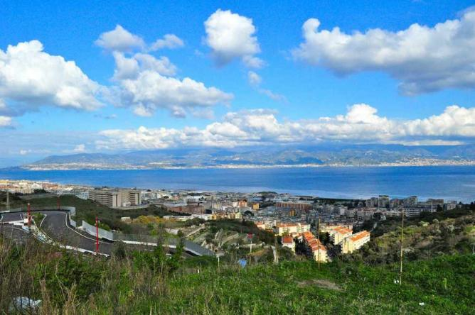 A view of Messina