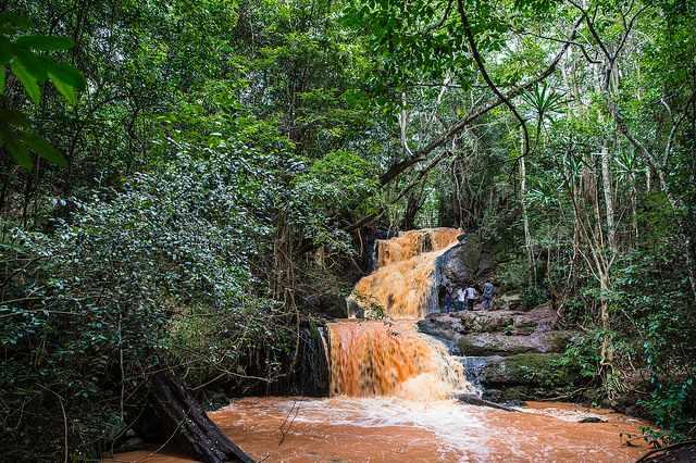A Waterfall at Karura Forest | © Ninara/Flickr
