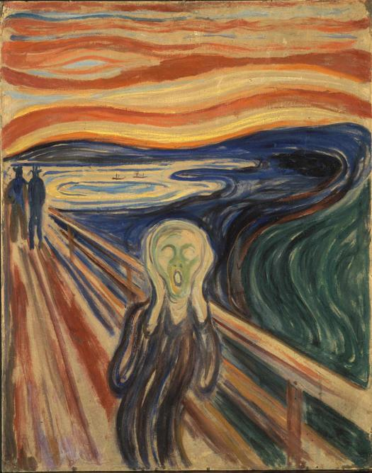 The Scream, 1910 | © Munch Museum
