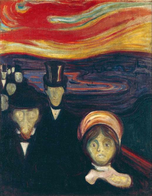 Anxiety, 1894 | © Google Art Project/WikiCommons