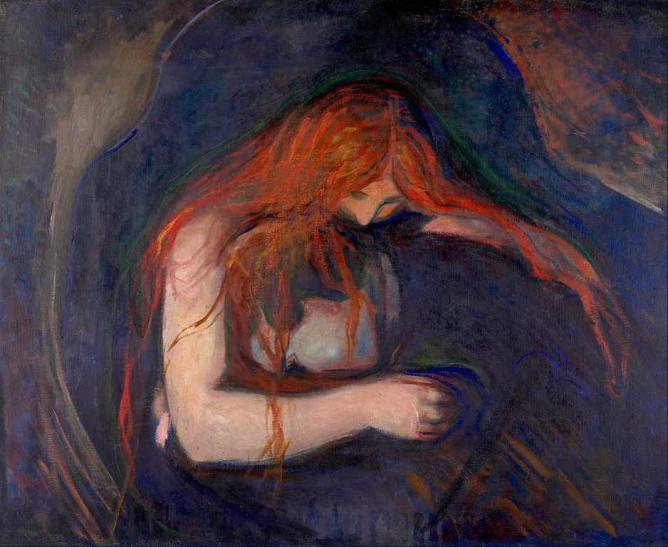 Vampire, 1893 | © Google Art Project/WikiCommons