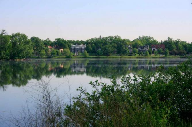 Lake of the Isles Minneapolis MN 2020