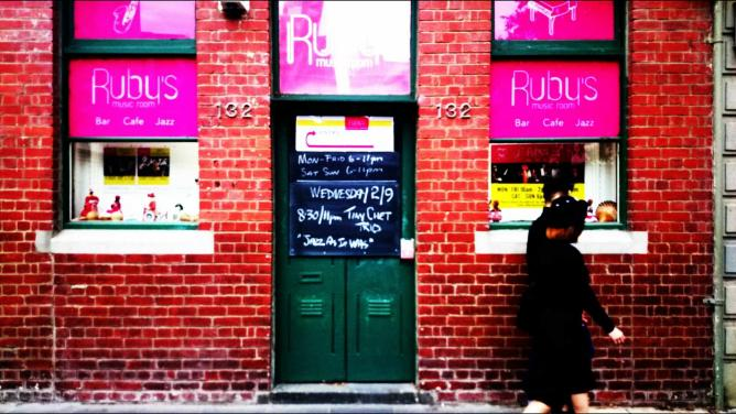 Outside Ruby's | © Jamal Ben