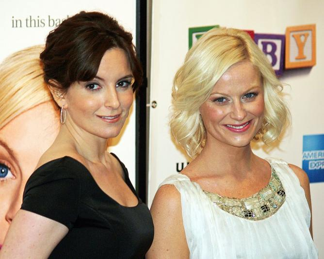 Amy Poehler and Tina Fey, 2008 | © David Shankbone/WikiCommons